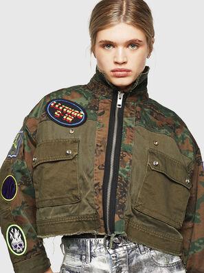 G-ANAPAY, Verde Militare - Giacche