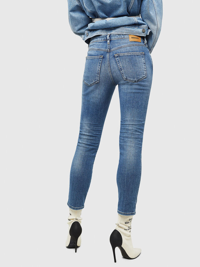Diesel - Babhila 086AP, Blu Chiaro - Jeans - Image 2