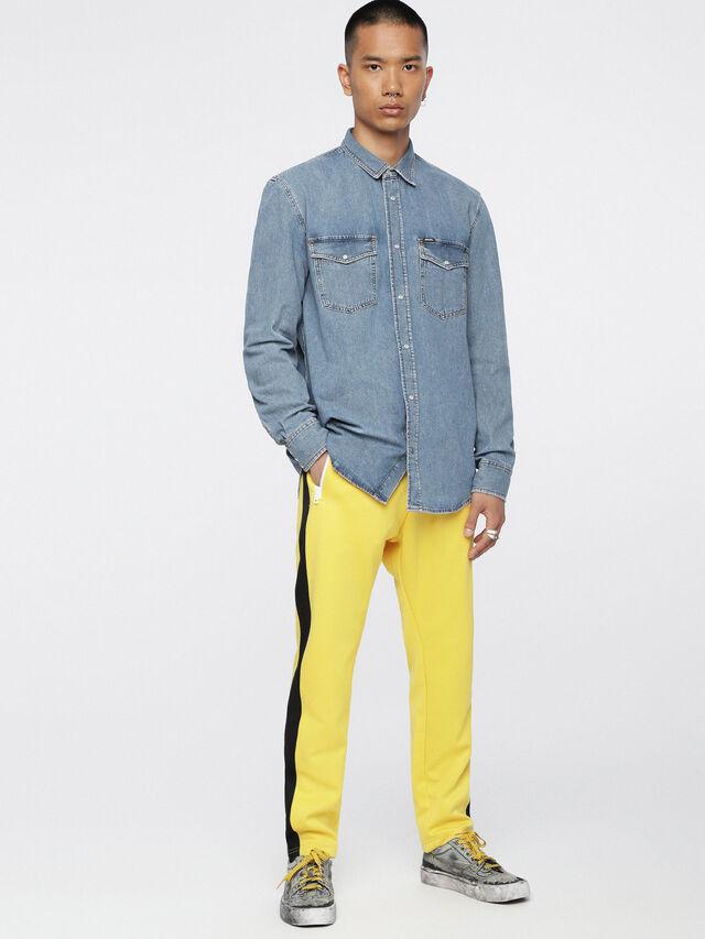 Diesel - D-ROOKE, Blu Jeans - Camicie in Denim - Image 4