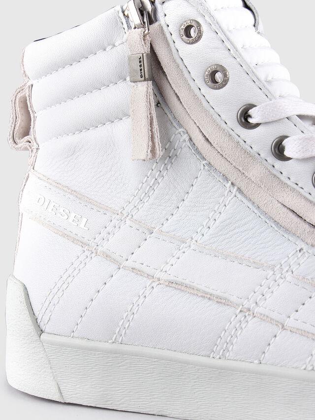 Diesel D-STRING PLUS, Bianco - Sneakers - Image 5