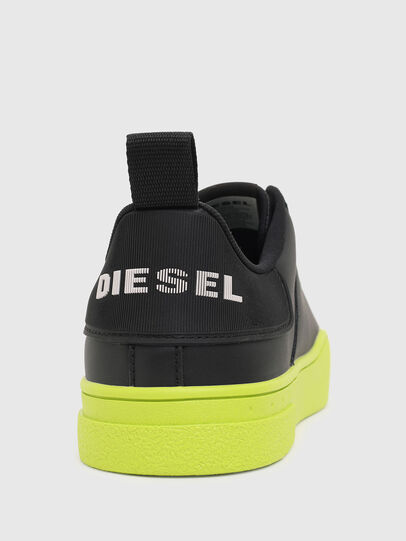 Diesel - S-CLEVER LOW LACE, Nero/Giallo - Sneakers - Image 4