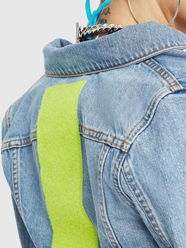 Diesel - DE-ZAUPY-C, Blu Jeans - Giacche in denim - Image 4