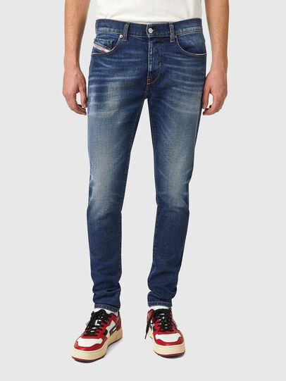 Diesel - D-Strukt 09A92, Blu medio - Jeans - Image 1