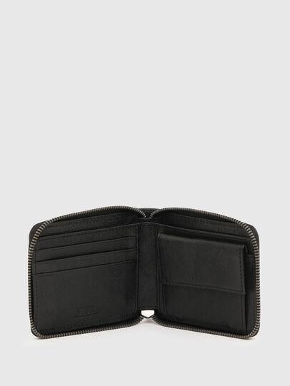 Diesel - HIRESH XS ZIPPY CHAI, Nero - Portafogli Con Zip - Image 3