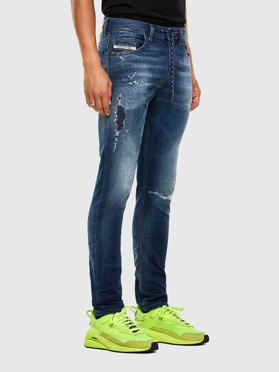 Diesel - Thommer JoggJeans 069PL, Blu Scuro - Jeans - Image 5