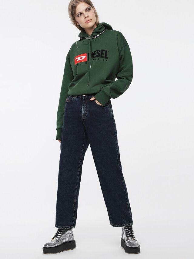 Diesel - Widee JoggJeans 069BE, Blu Scuro - Jeans - Image 6