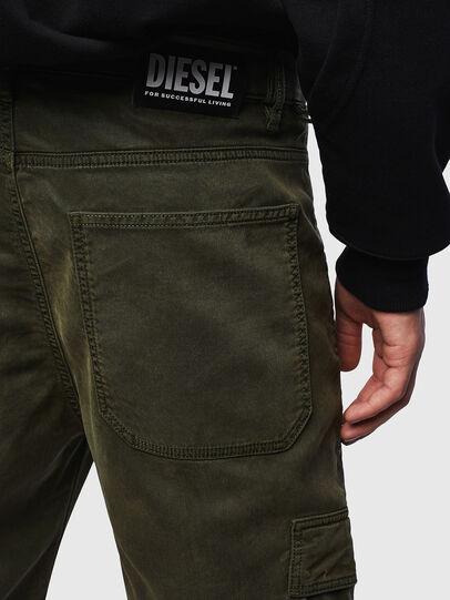 Diesel - D-Krett JoggJeans® 069LX, Verde Militare - Jeans - Image 3