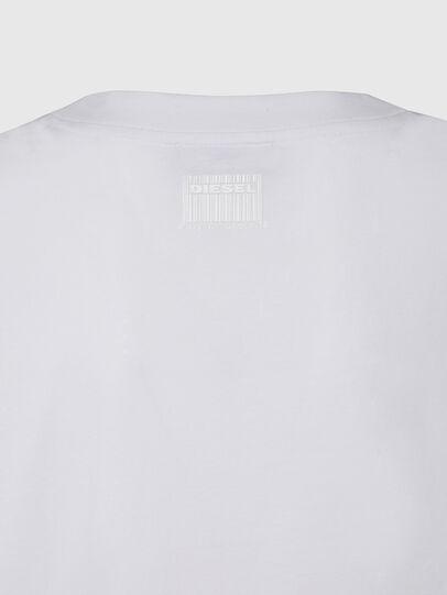 Diesel - T-RASSEL, Bianco - T-Shirts - Image 4