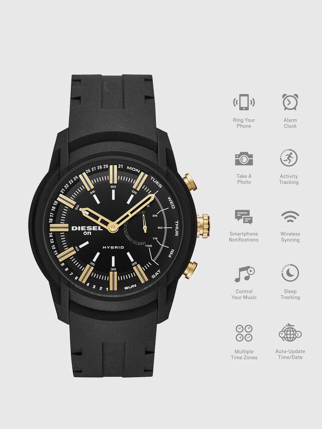 Diesel - DT1014, Nero - Smartwatches - Image 1