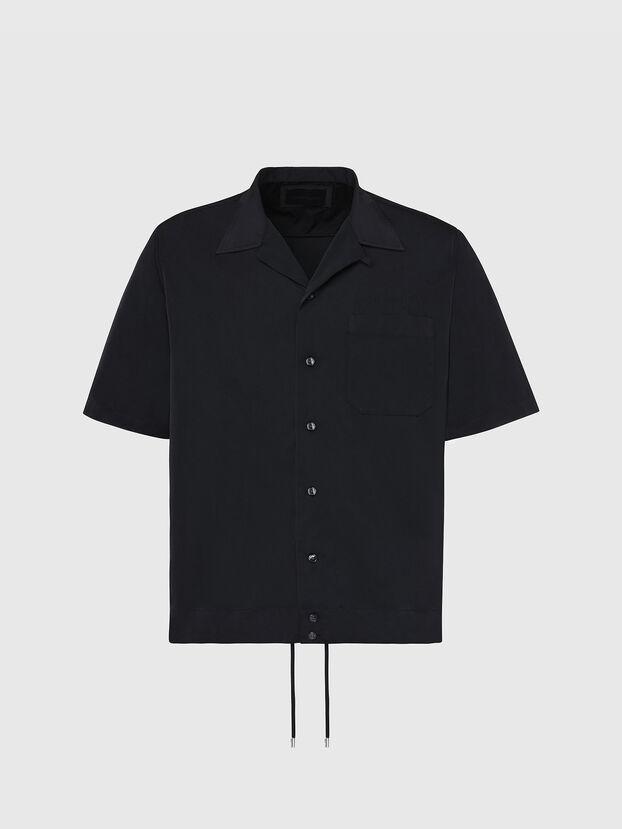 S-MOOL-A, Nero - Camicie