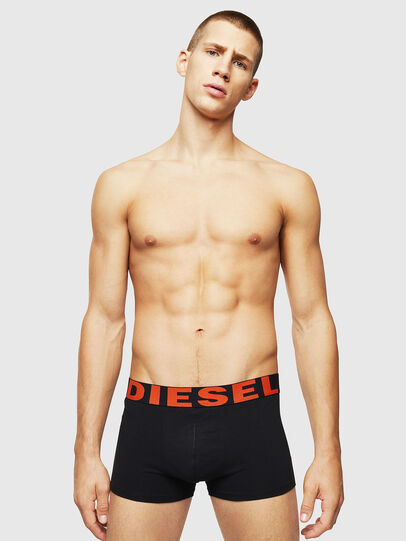 Diesel - UMBX-SHAWNTHREEPACK, Nero Brillante - Boxer stretch - Image 2