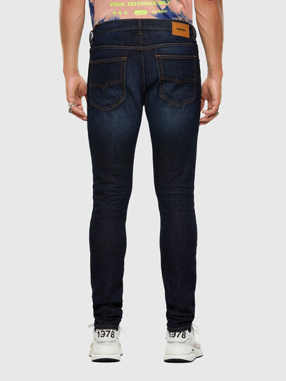 Diesel - D-Luster 009EQ, Blu Scuro - Jeans - Image 2