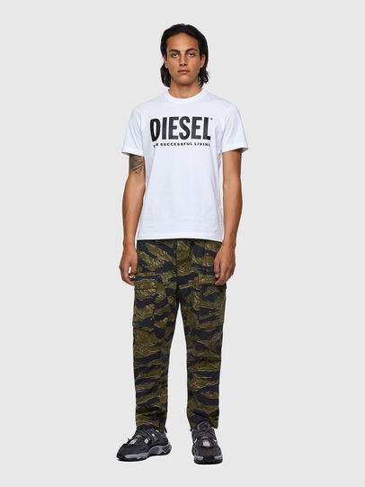 Diesel - T-DIEGOS-ECOLOGO, Bianco - T-Shirts - Image 4