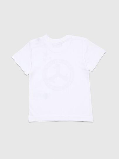 Diesel - TARTB, Bianco - T-shirts e Tops - Image 2