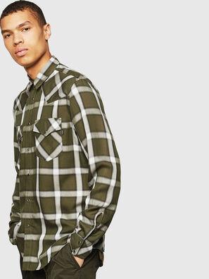 S-EAST-LONG-XA, Verde Scuro - Camicie