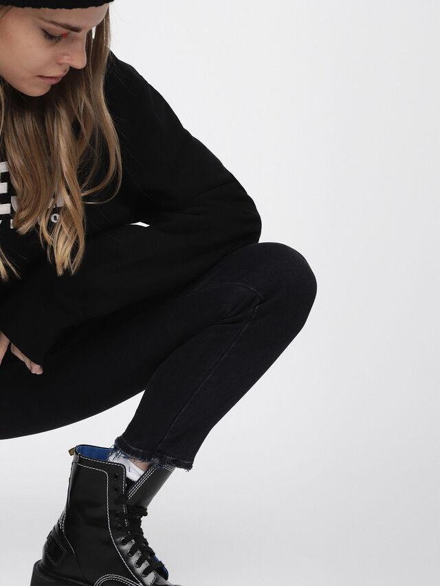 BABHILA 084NX, Nero Jeans