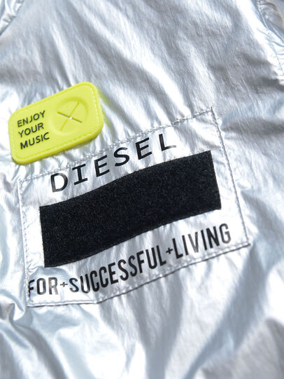 Diesel - JMATISE, Argento - Giacche - Image 3
