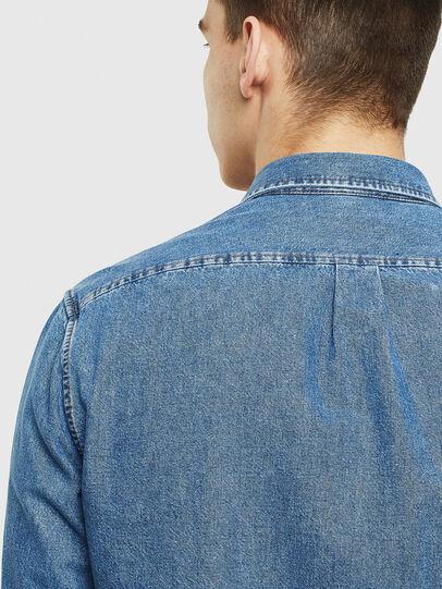 Diesel - D-BER-P, Blu Jeans - Camicie in Denim - Image 5