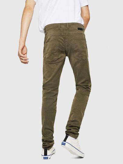 Diesel - Krooley Long JoggJeans 0670M, Verde Militare - Jeans - Image 2