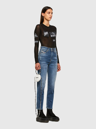 Diesel - D-Eiselle 009CZ, Blu medio - Jeans - Image 6