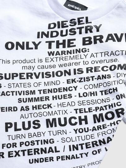 Diesel - TDIEGOS3B-R, Bianco - T-shirts e Tops - Image 3