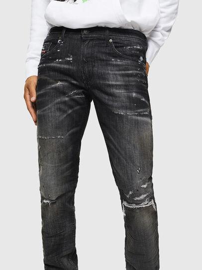 Diesel - Thommer JoggJeans 0098E, Nero/Grigio scuro - Jeans - Image 3