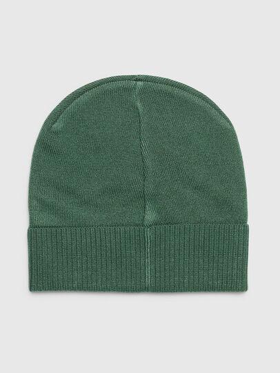 Diesel - K-BECKY-B, Verde Scuro - Cappelli invernali - Image 2