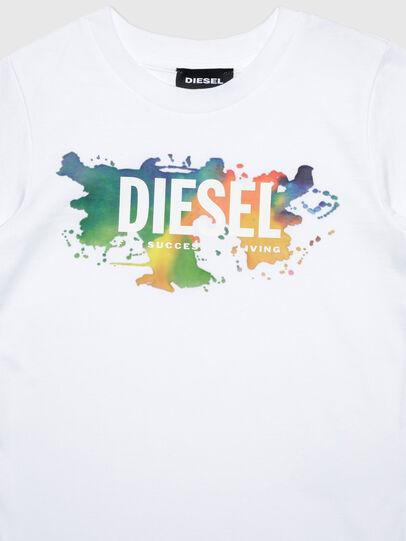 Diesel - TDOSKYB ML-R, Bianco - T-shirts e Tops - Image 3