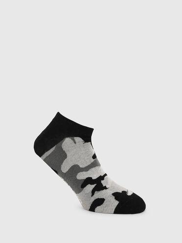 Calzini corti con motivo camouflage