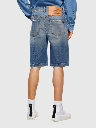 Diesel - D-MACS-SHORT-T-SP, Blu Chiaro - Shorts - Image 2