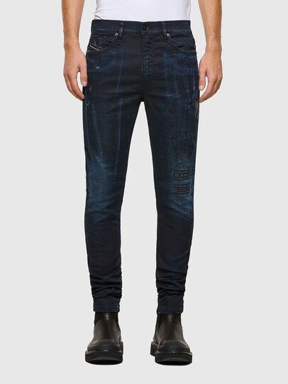 Diesel - D-REEFT JoggJeans® 069RB, Blu Scuro - Jeans - Image 1