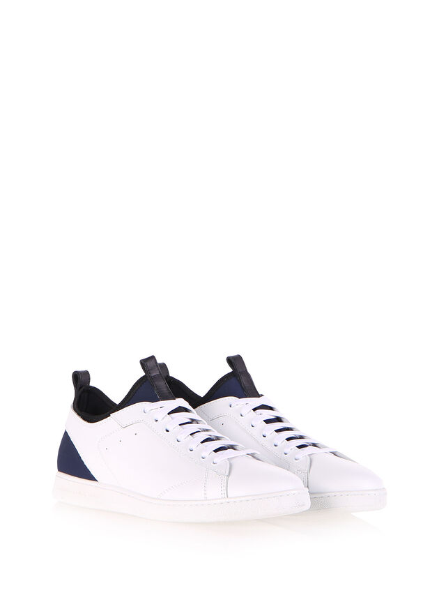 Diesel - S18ZERO, Bianco - Sneakers - Image 2