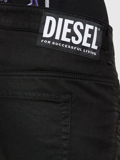 Diesel - FAYZA JoggJeans® 069NC, Nero/Grigio scuro - Jeans - Image 4