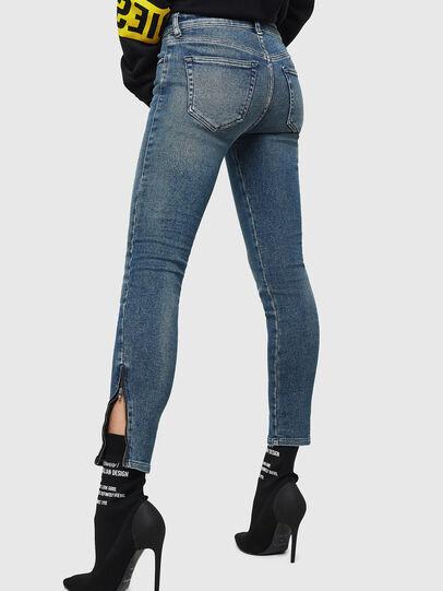 Diesel - Slandy Zip 083AL, Blu medio - Jeans - Image 2