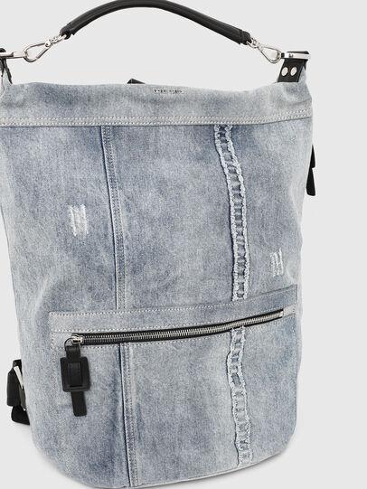 Diesel - SYLE, Grigio Jeans - Zaini - Image 5