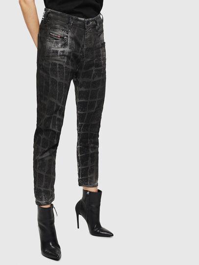 Diesel - Fayza JoggJeans 0094M, Nero/Grigio scuro - Jeans - Image 6