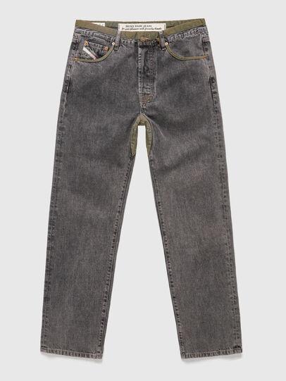 Diesel - DxD-P2 0CBBH, Nero/Grigio scuro - Jeans - Image 1