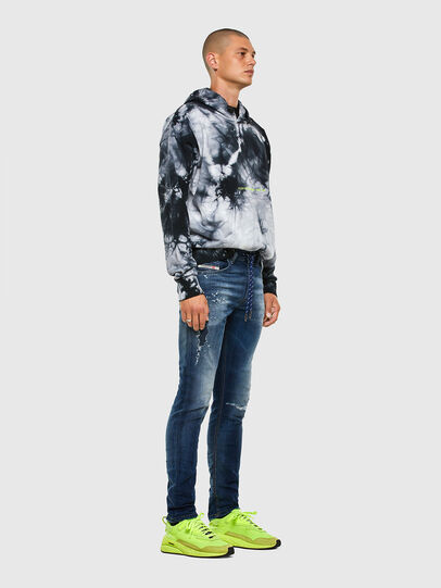 Diesel - Thommer JoggJeans 069PL, Blu Scuro - Jeans - Image 6