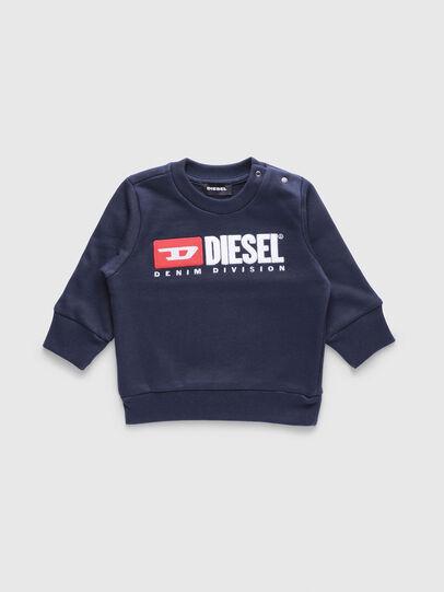 Diesel - SCREWDIVISIONB, Blu Navy - Felpe - Image 1
