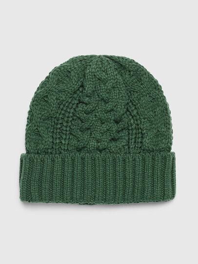 Diesel - K-KONEX, Verde Scuro - Cappelli invernali - Image 1