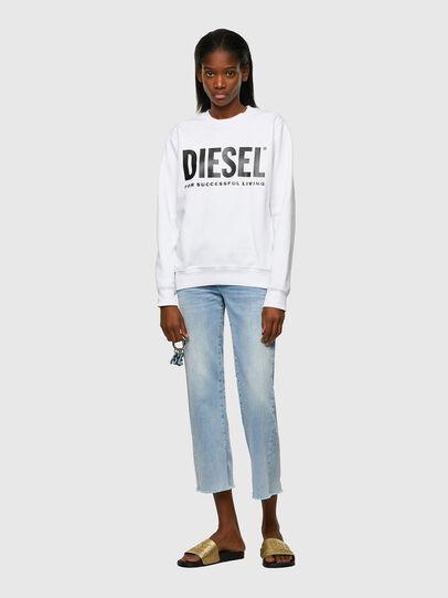 Diesel - F-ANGS-ECOLOGO, Nero/Bianco - Felpe - Image 4