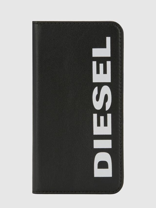 Diesel - SLIM LEATHER FOLIO IPHONE 8/7, Nero - Cover a libro - Image 6