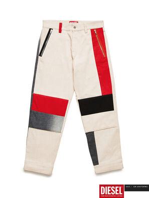 GR02-P301-P, Bianco - Pantaloni