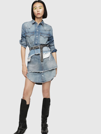 Diesel - DE-DESY-P, Blu Jeans - Vestiti - Image 4