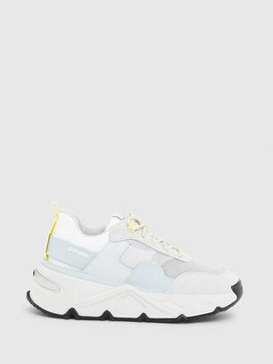 S-HERBY LOW, Bianco/Blu - Sneakers