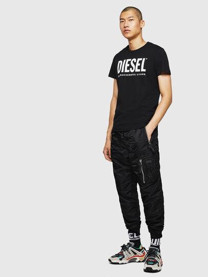 Diesel - T-DIEGO-LOGO, Nero - T-Shirts - Image 7