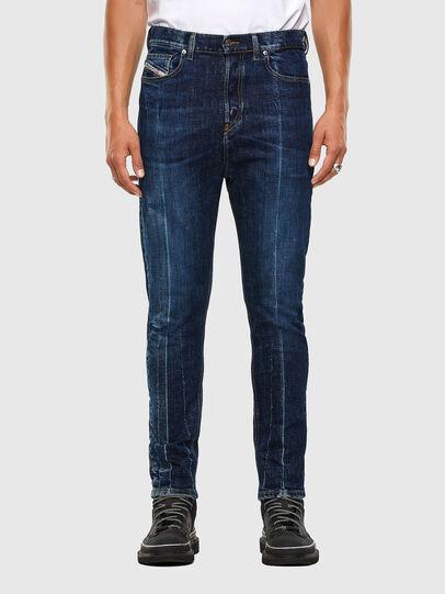 Diesel - D-Vider 0092X, Blu medio - Jeans - Image 1