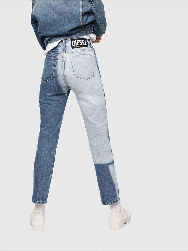 Diesel - D-Eiselle 0077V, Blu medio - Jeans - Image 2