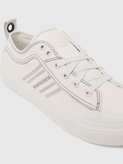 Diesel - S-ASTICO LOW LACE W, Bianco - Sneakers - Image 4