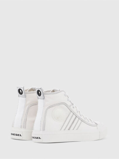 Diesel - S-ASTICO MID LACE W, Bianco - Sneakers - Image 3